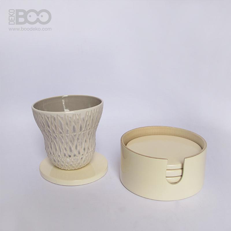 Lacquer Cup Coaster Boodeko