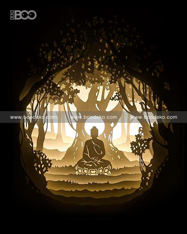 Fairy lamp – Buddha