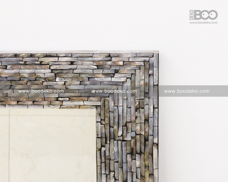Rectangular Mosaic Mirror