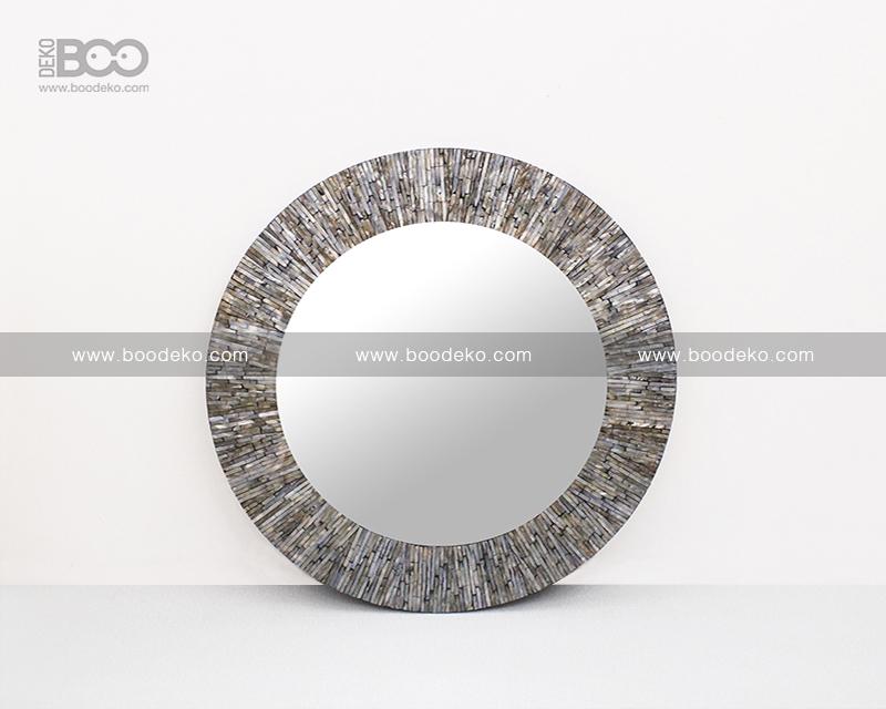 Circle Mosaic Mirror